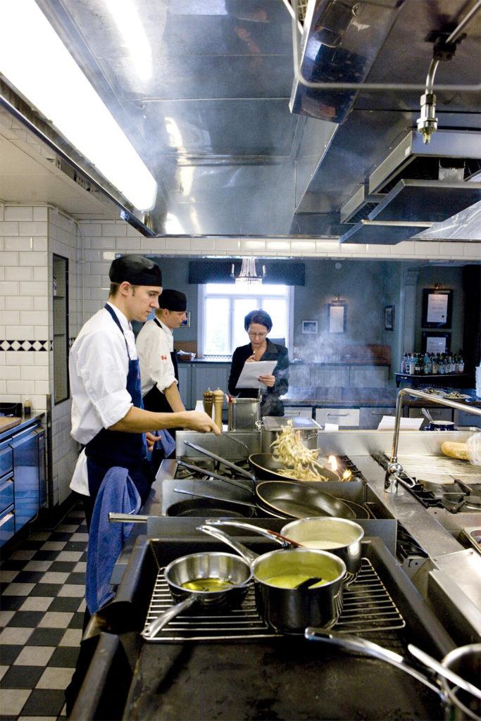 Köket på Albert Hotell