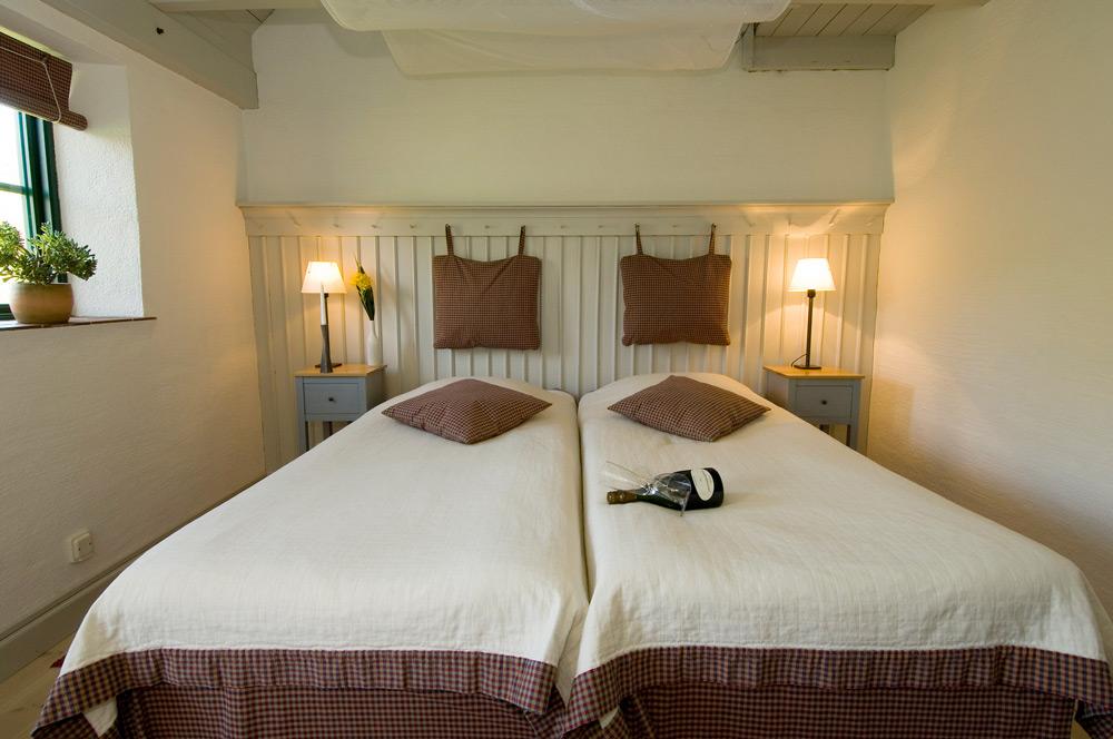 Hotellrum på Möllegården
