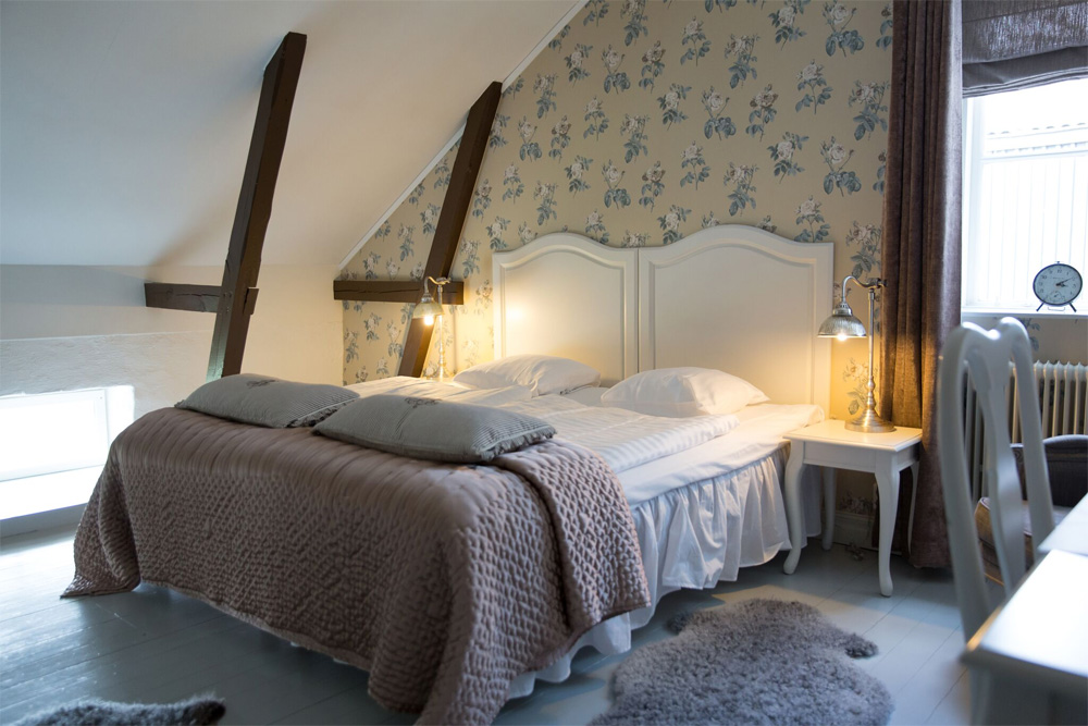 Hotellrum på Båsenberga Hotell