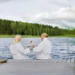Njut vid vattnet på Dömle Herrgård