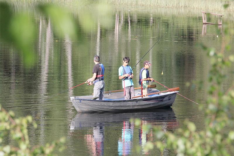 Boka ett Fiskepaket och åk på en rofylld weekendresa