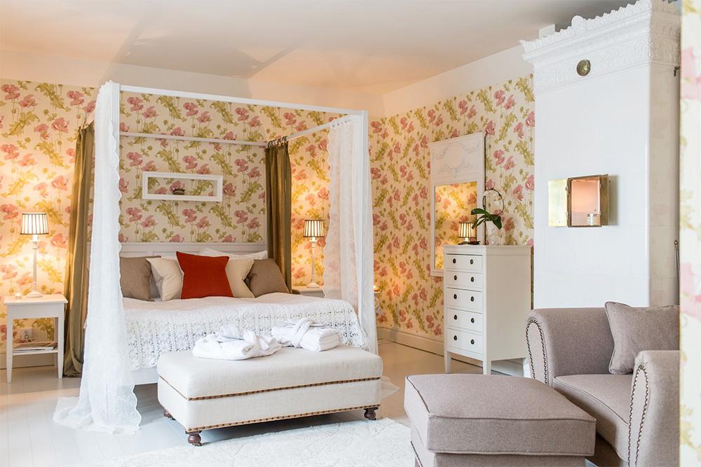 Hotellrum på Fredriksborg Hotell