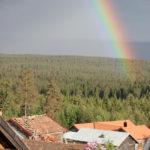 Regnbåge över Fryksås Hotell & Gestgifveri