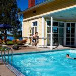 Badbassäng på Hestraviken hotell & restaurang
