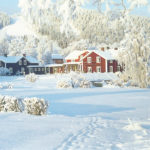 Vinter på Hotell Järvsöbaden