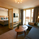Hotellrum på Villa Källhagen