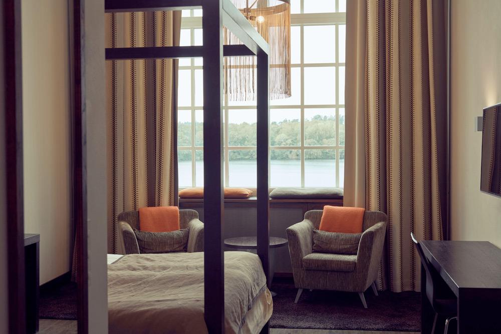 Hotellrum på Nääs Fabriker Hotell & Restaurang