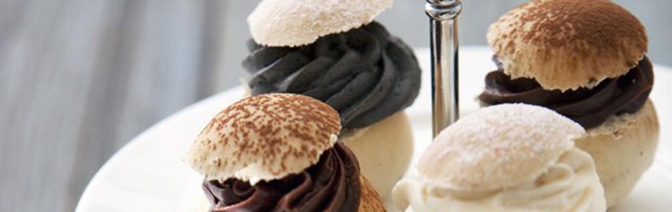 Minisemlor med tryffel, kola eller lakrits