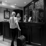 Hotell Slottsbackens reception