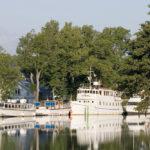 Båtar utanför Söderköpings Brunn