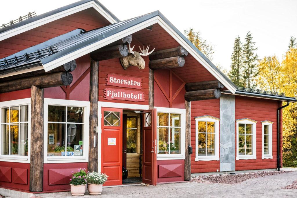 Storsätra Fjällhotell - Skidåkning och vandringsleder