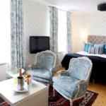 Vackert hotellrum på Stufvenäs Gästgifveri & SPA