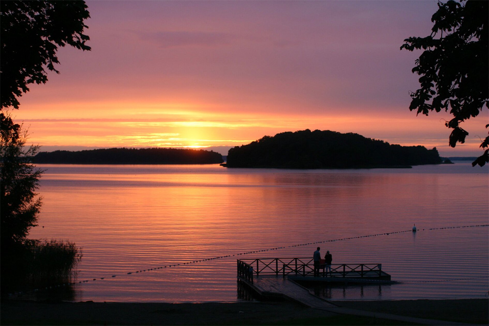 Sjön vid Sundbyholms Slott