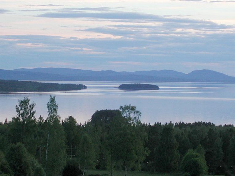 Vacker natur omkring Tällbergsgårdens hotell