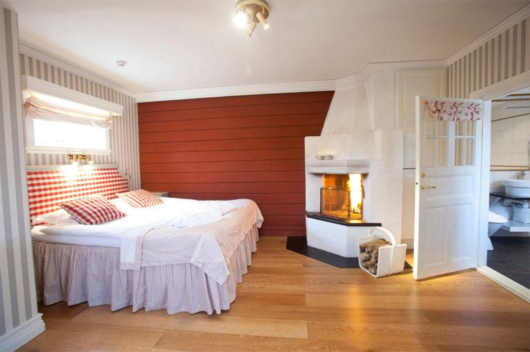 Hotellrum på Tällbergsgårdens Hotell