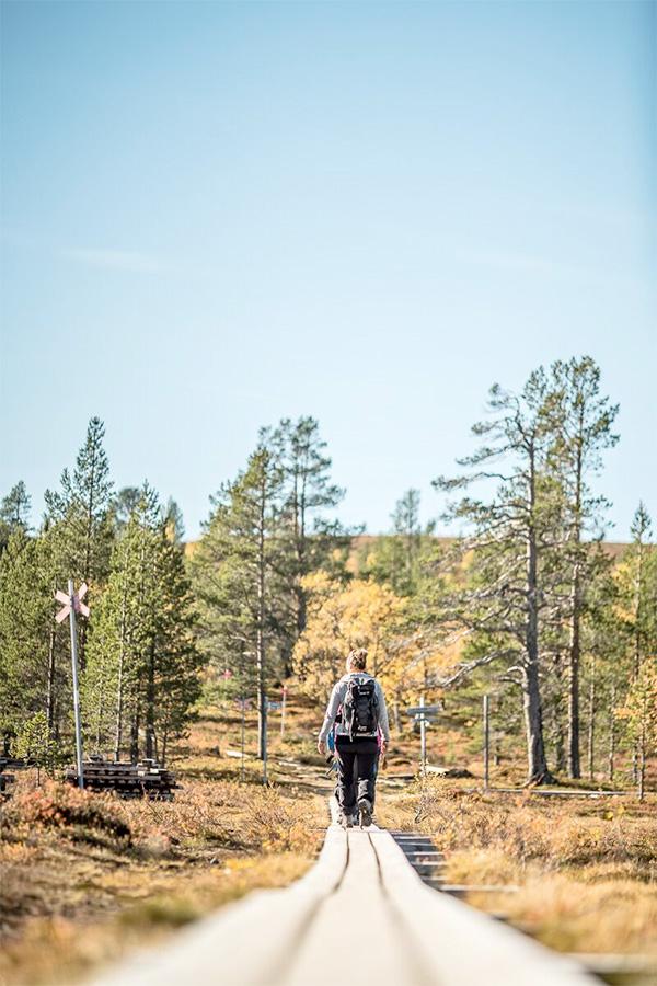 Kombinera ditt weekendpaket med en vandringsresa