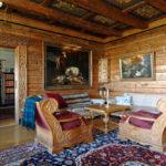 Lounge på Västanå slott