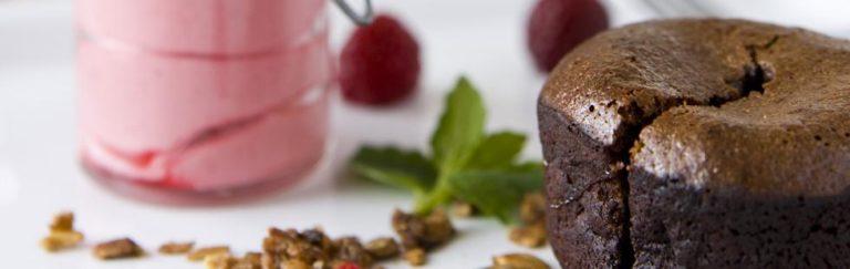 Recept på chokladganache med hallonmousse