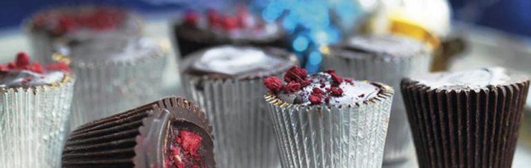 Chokladkonfekt med mjuk kola