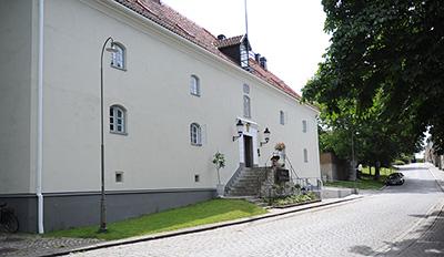 Exteriörbild på Hotell Slottsbacken
