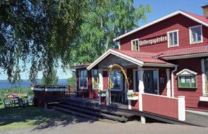 Exteriörbild på Tällbergsgårdens Hotell