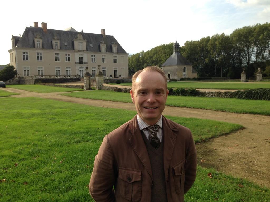 Peder Lamm håller i Gods & Gårdar Hotellweekend