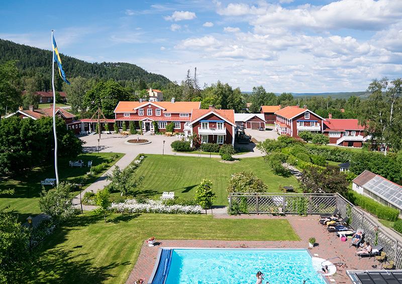 Mat & champagnehelg på Hotell Järvsöbaden