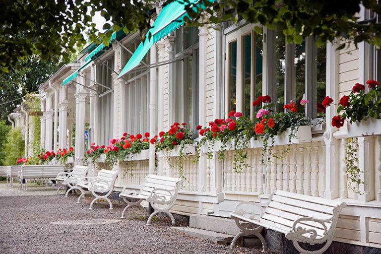 Mat & champagnehelg på Söderköping brunn