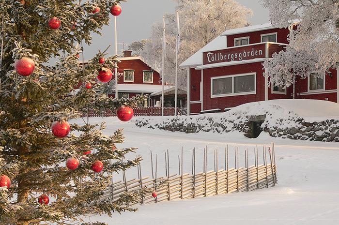 Jul på Tällbergsgården