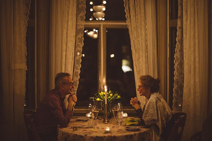En romantisk weekend på Villa Sjötorp