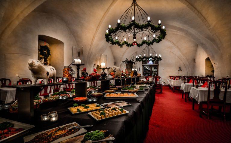 Vadstena klosterhotel julbord