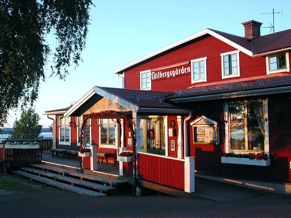 Bo på hotell i Tällbergsgården