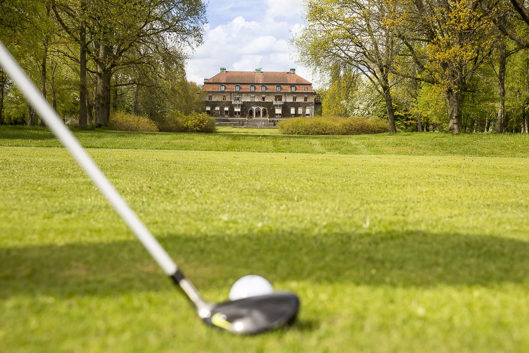 Golfa vid slottet