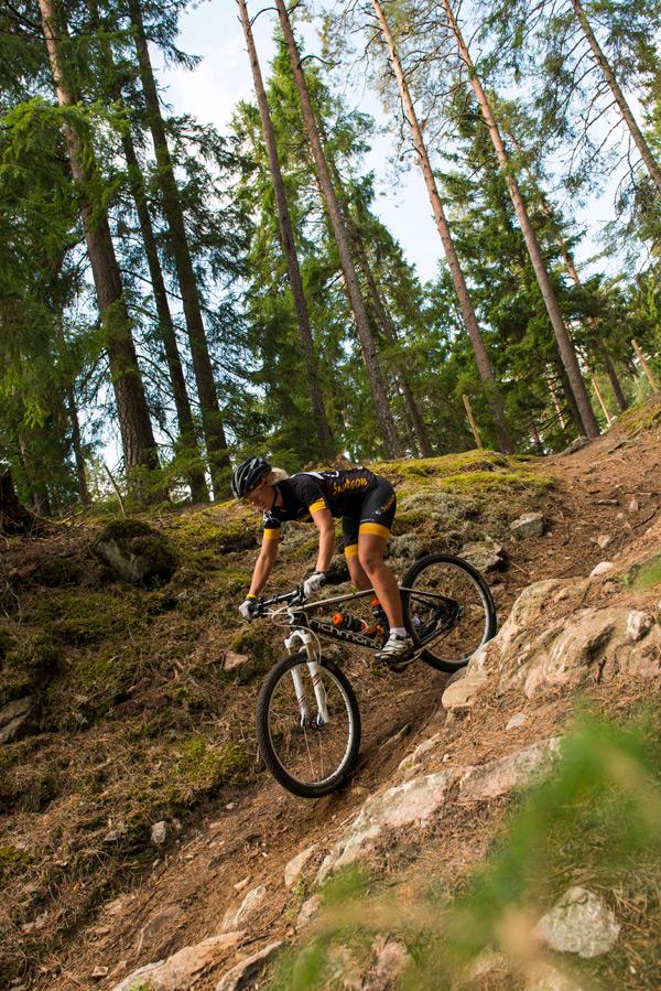 Cykla i Filmlandskapet i Småland