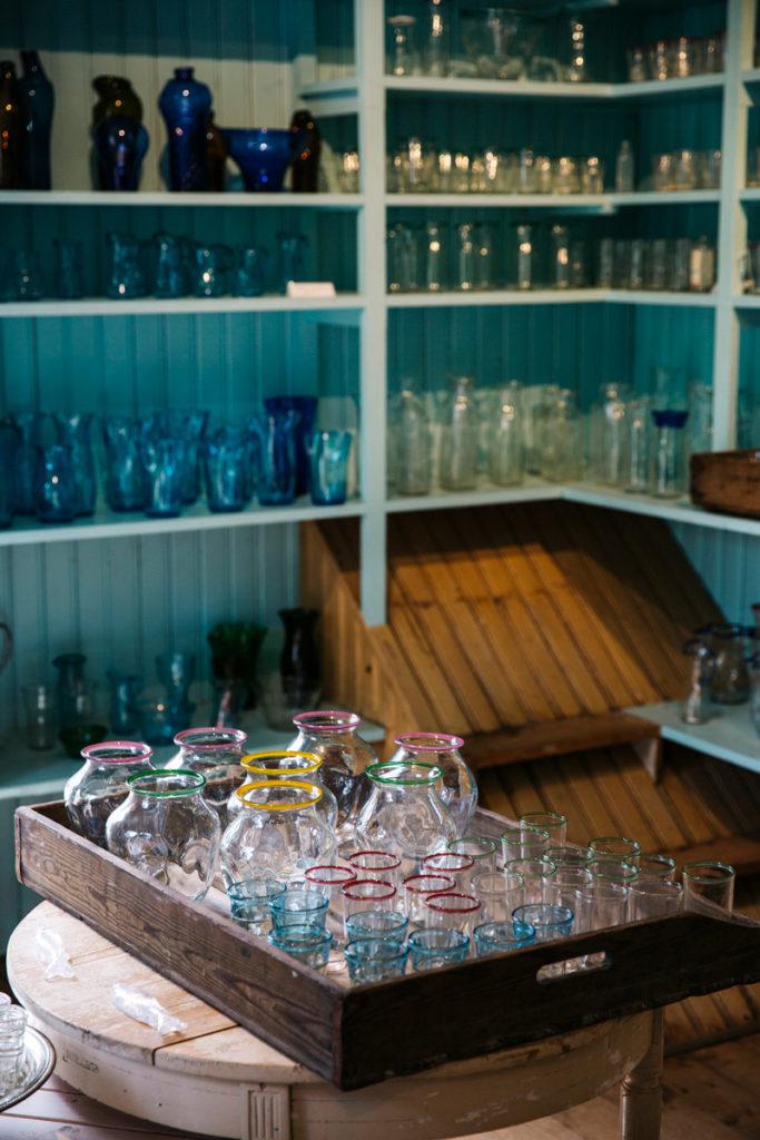 Besök glasriket i Småland