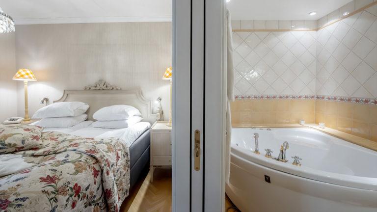 Hotellrum på Sundbyholm Slott