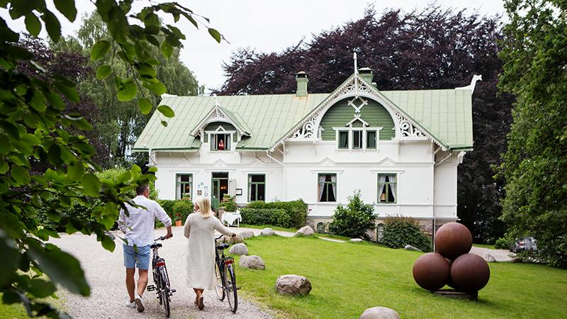 Havsnära hotell Villa Sjötorp