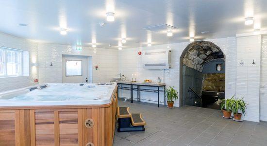 Hotell Järvsöbadens spa-avdelning