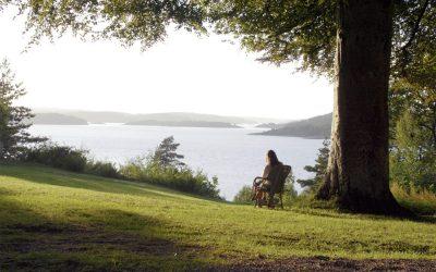 Vackert landskap runt Villa Sjötorp