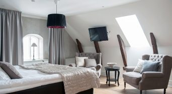 Hotellrum på Hotell Slottsbacken