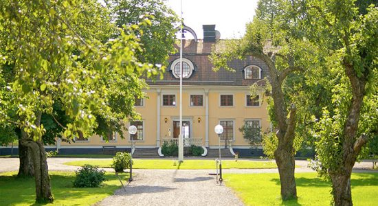 Exteriörbild på Söderfors Herrgård