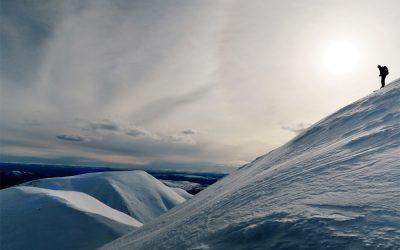 Storsätra Fjällhotells vackra vinterlandskap