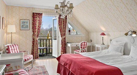 Hotellrum på Toftaholm
