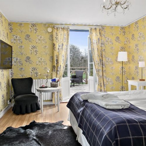 Hotellrum på Toftaholm Herrgård