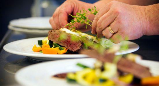 Mat på Ulvsby Herrgård Länsmansgården